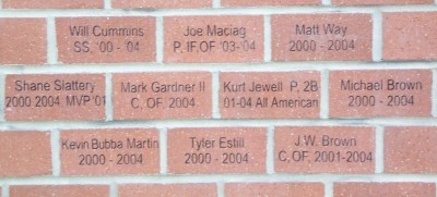 DY Engraved Bricks Fundraisers