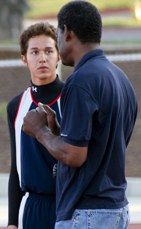 albrecht and coach cent 2009