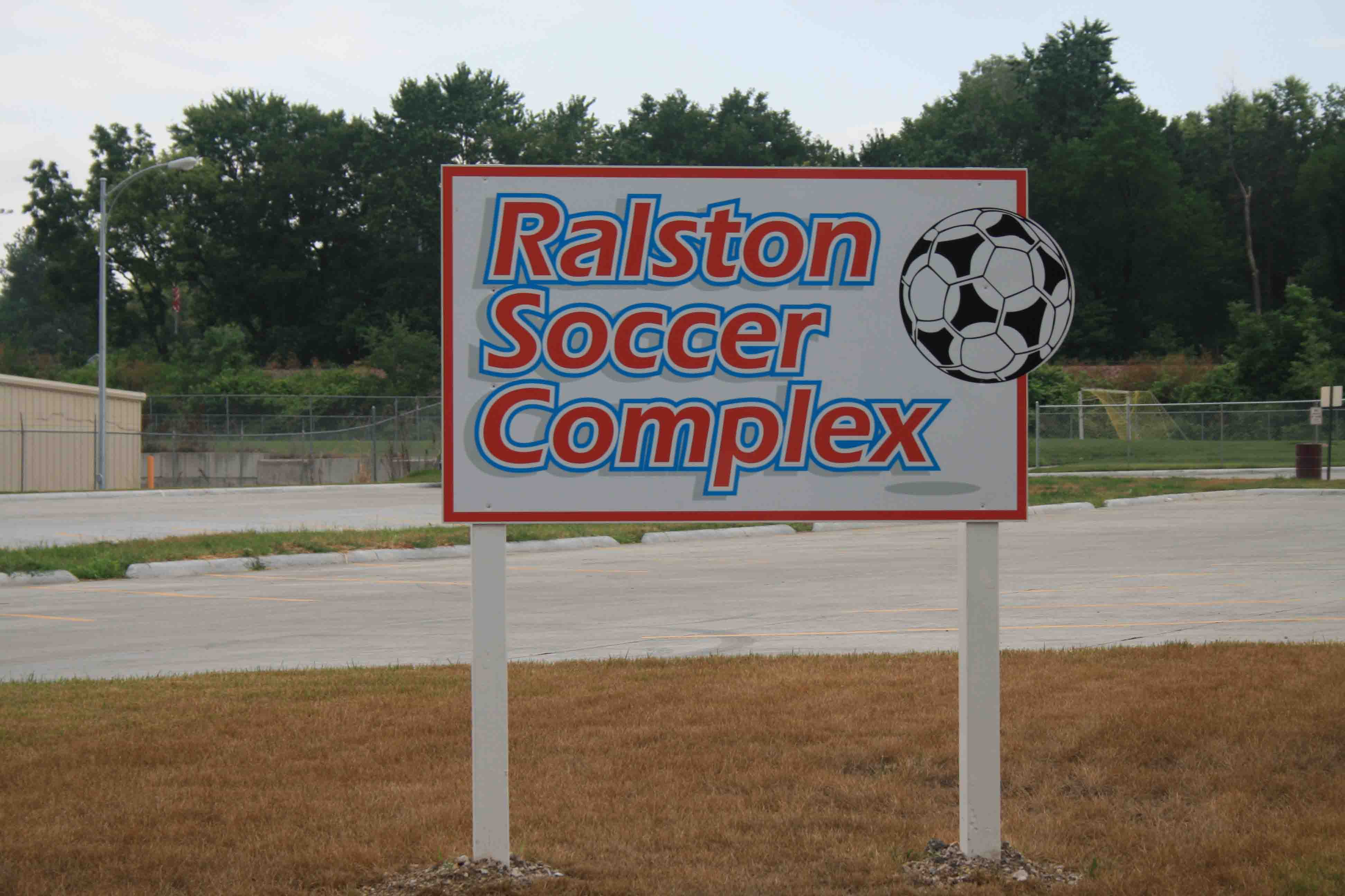 Ralston Soccer Sign