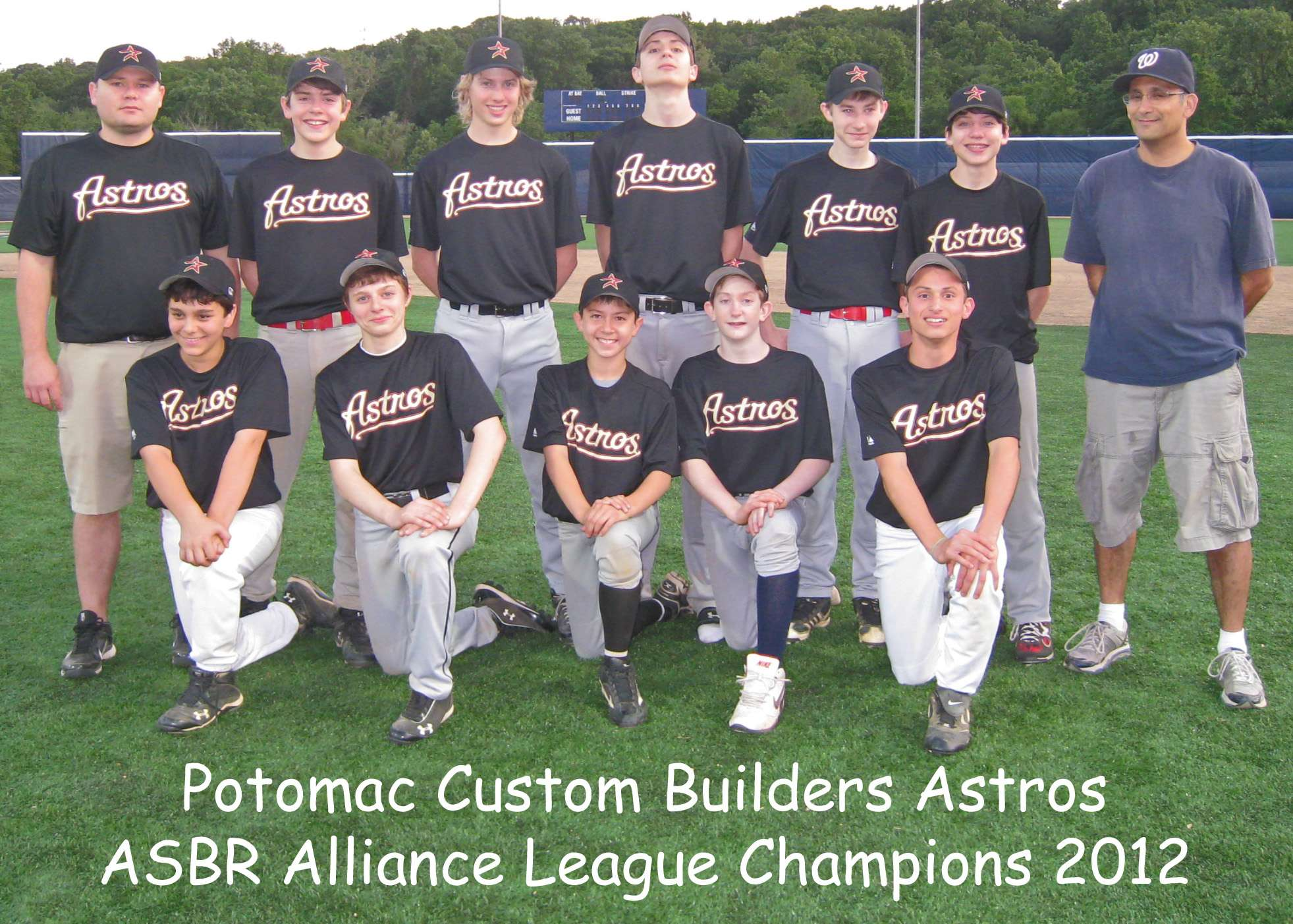 2012 Alliance Champs Astros
