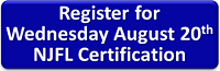 Register for August 20th Certification