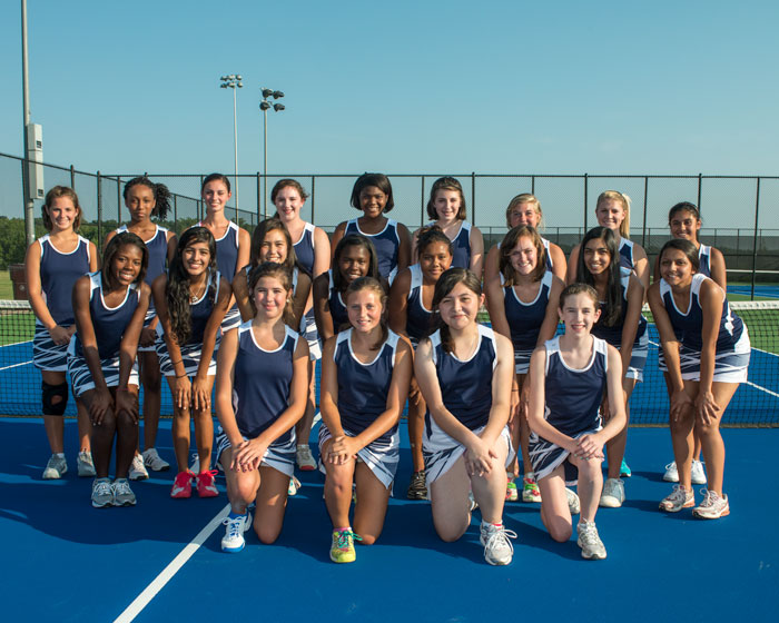 2012 Girls Tennis Team