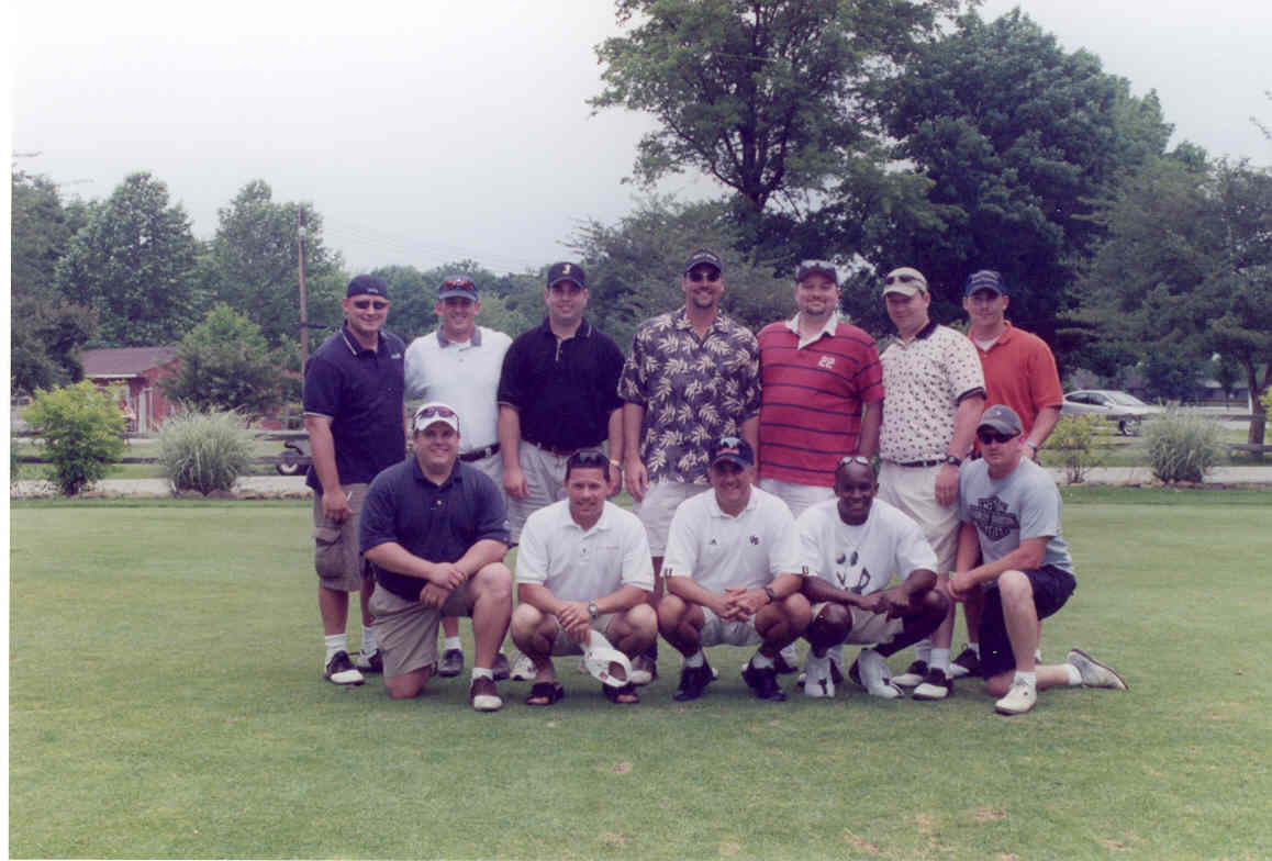 2003 golf outing