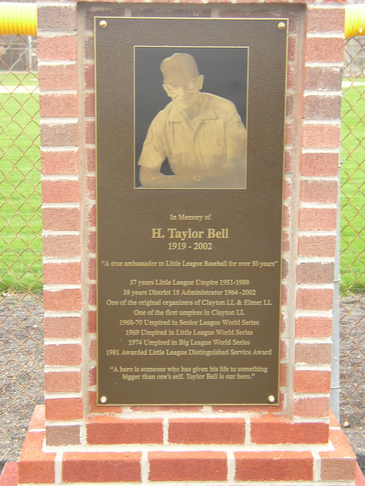 Taylor Memorial