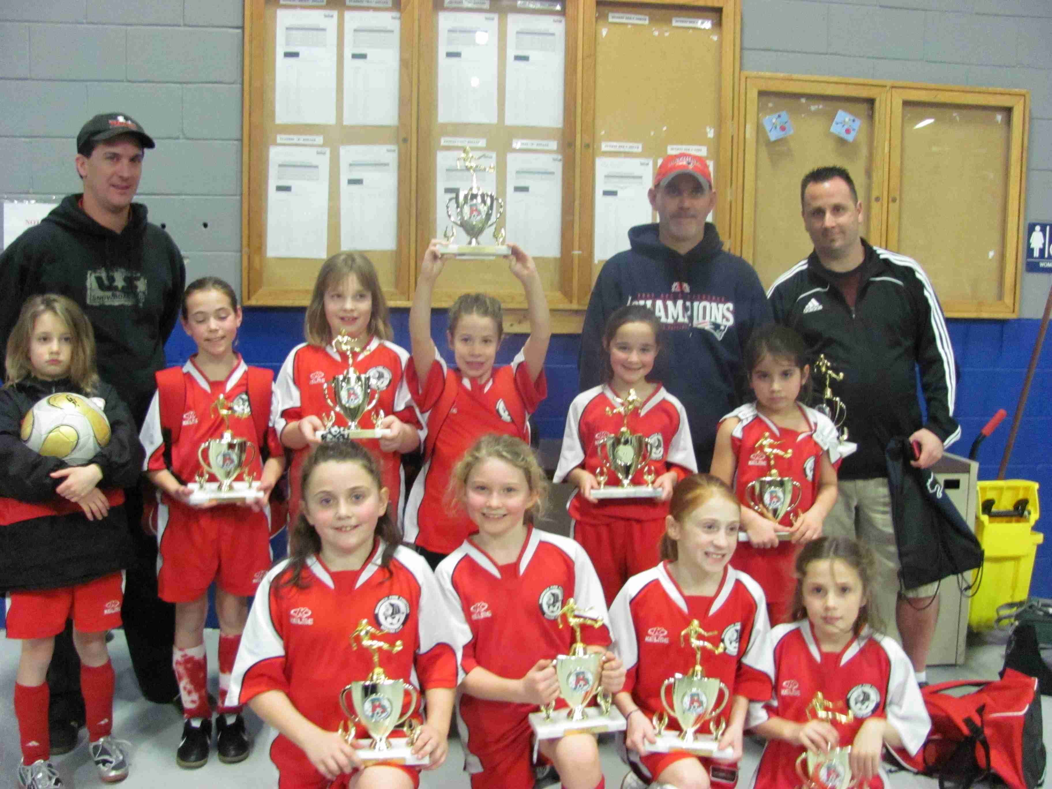 U10 Girls Runner-Up Holiday Tourn - 2009