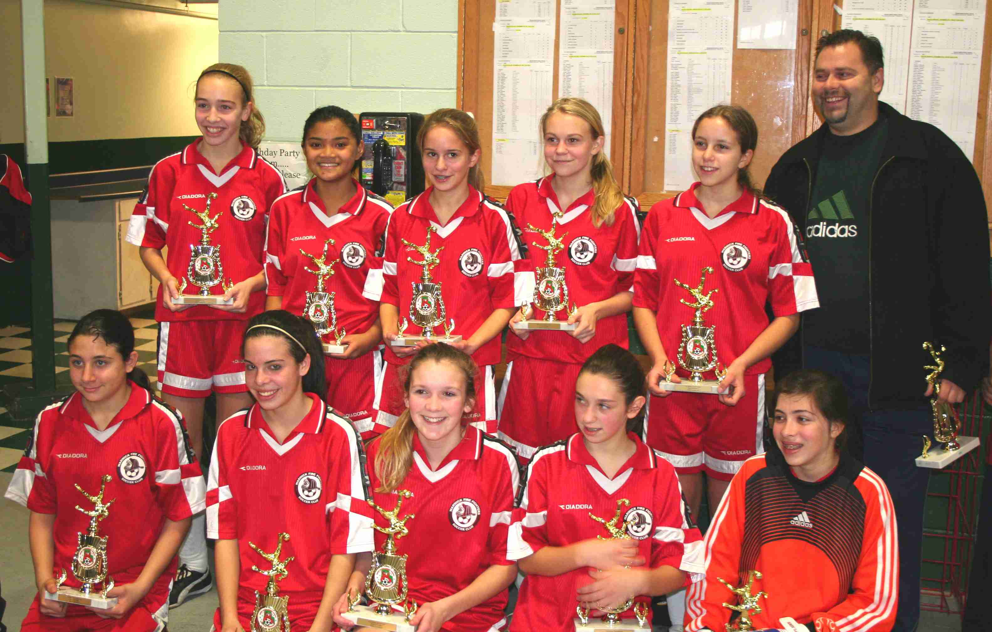 U14 Girls Champs 2006