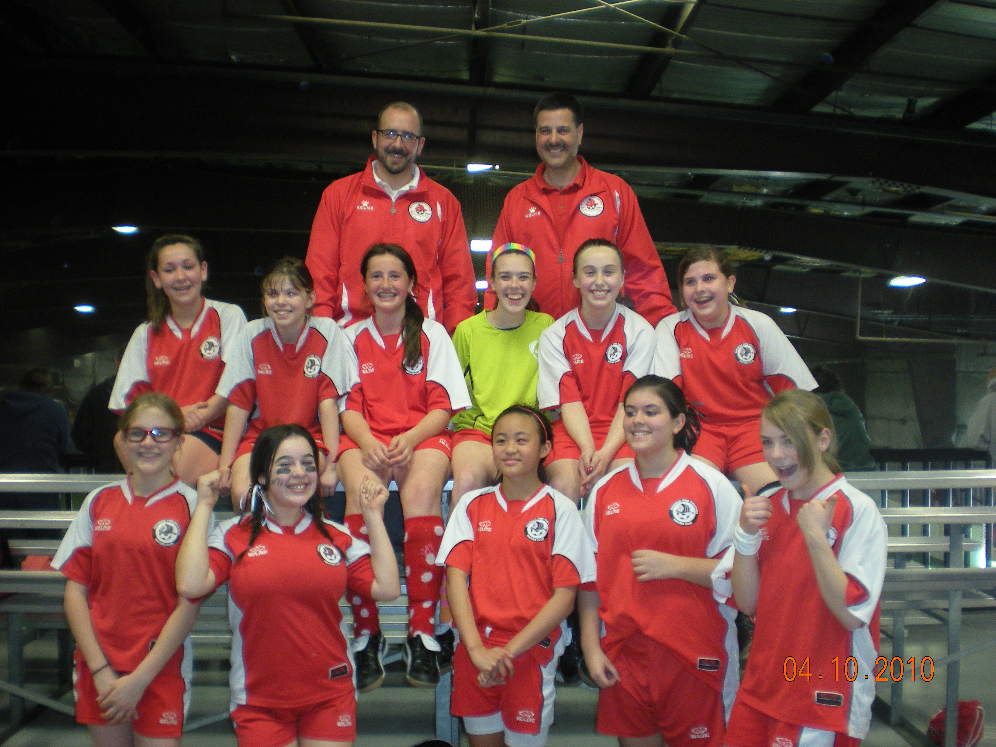 U14 Girls Session 2 Champs 2010