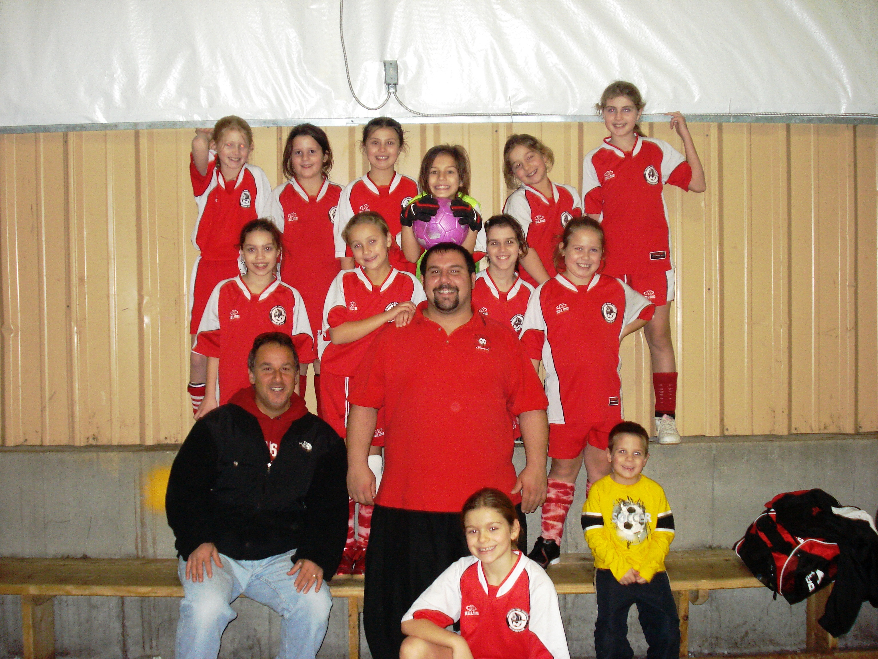 U10 Girls Champs - 2007