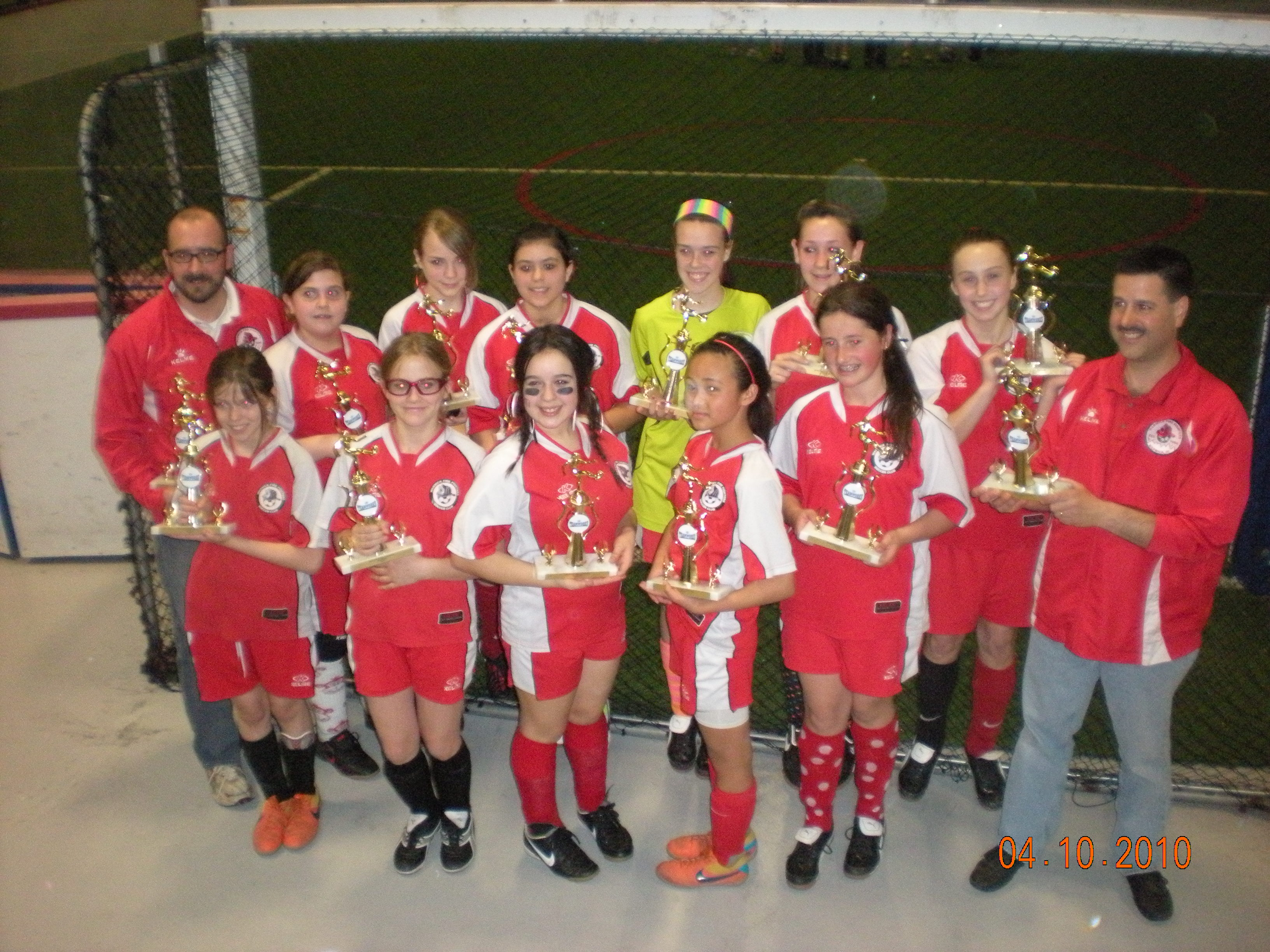 U14 Girls Session 2 Champs 2010-2