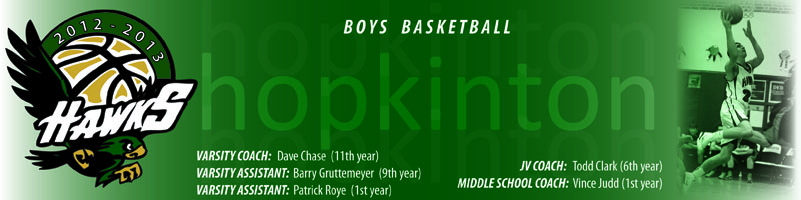 Hopkinton Varsity Boys Basketball