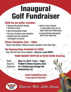 Golf Outing Flyer 2013