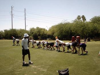 Mo teaching starts NFL HS camp