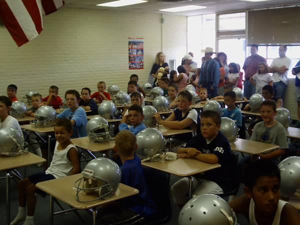 Bagdad camp class  room
