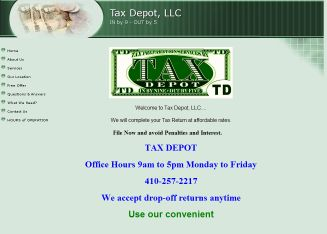 Tax Depot