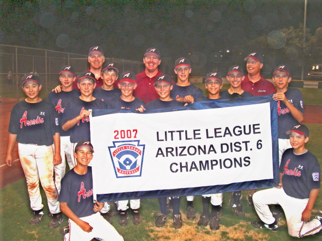 2007 ARLL Little League Champs