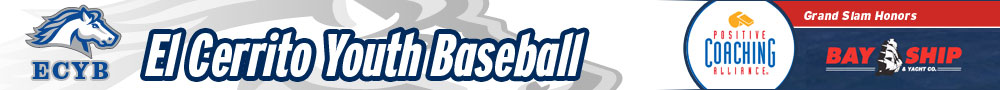 The El Cerrito Youth Baseball Website