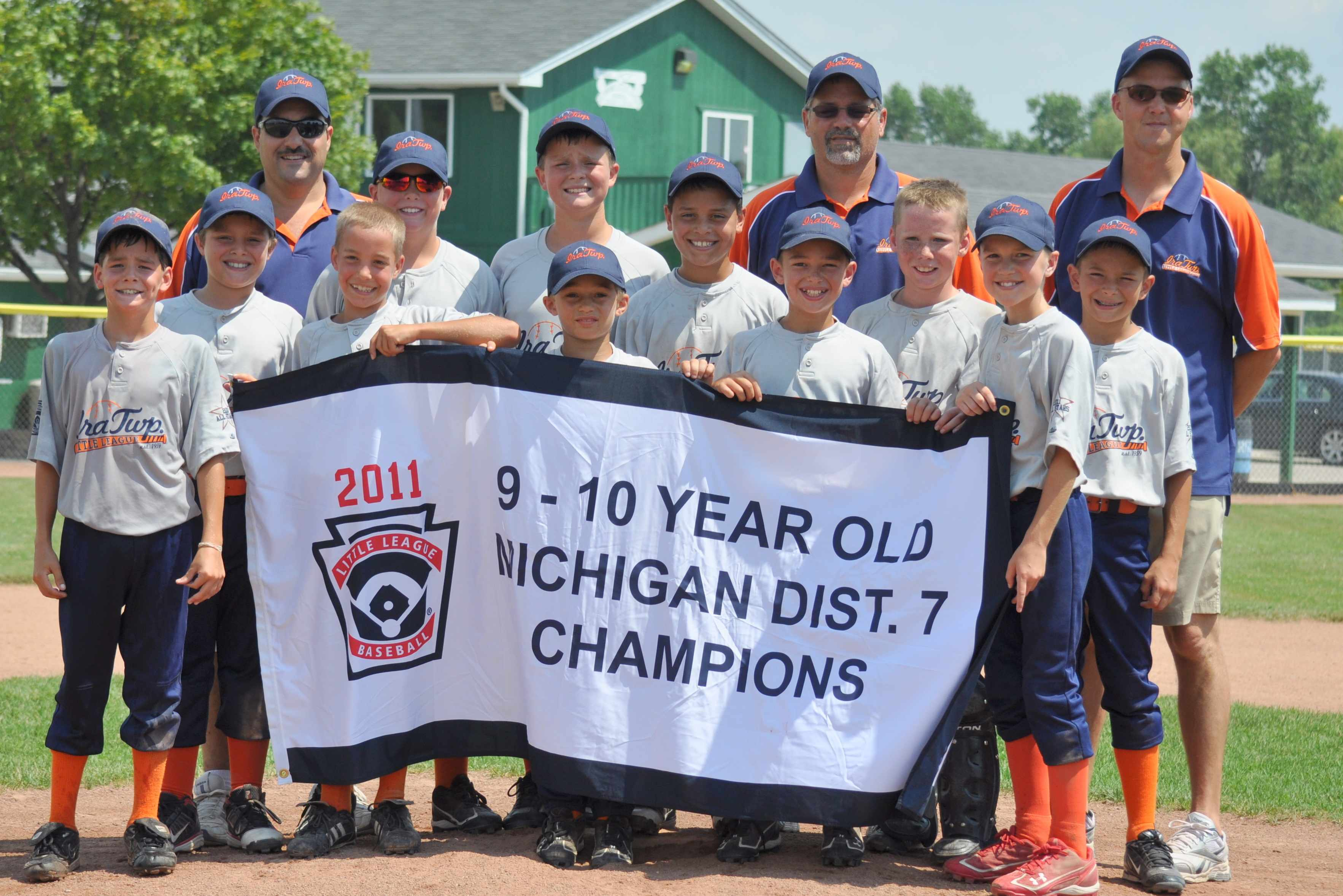 Ira 11U 2011 District 7 Champs