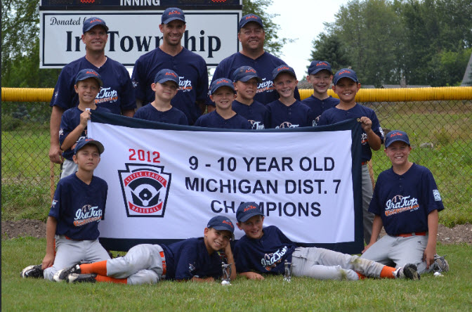 2012 Ira Little League District 7 Champs and State Runner Up