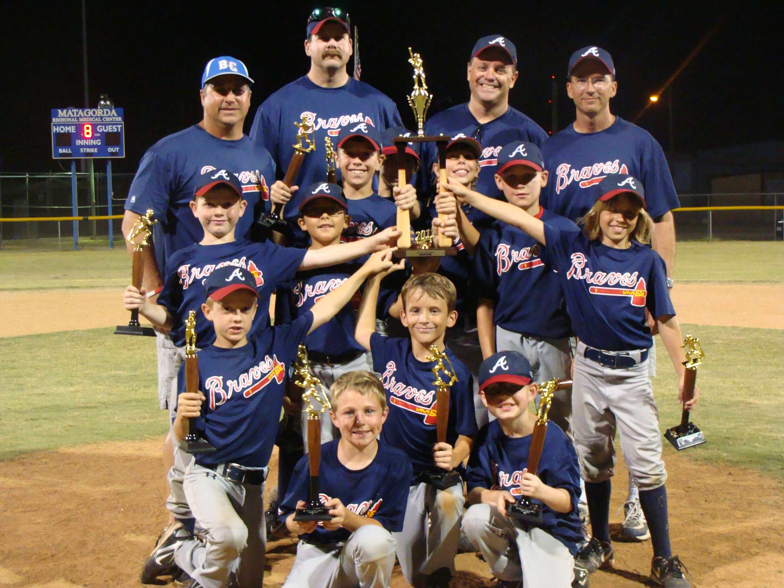 2011 Minor League Champions - Braves
