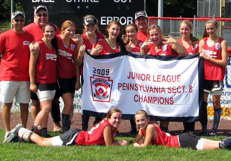 2009 Softball Jr Sectional Champs