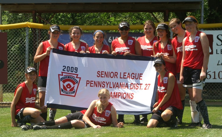 2009 Sr Softball Champs