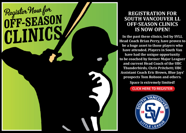 baseball spring training clinics for youth