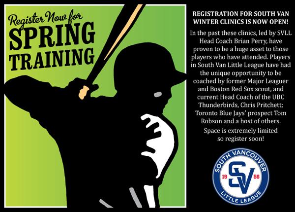 SVLL Spring Training