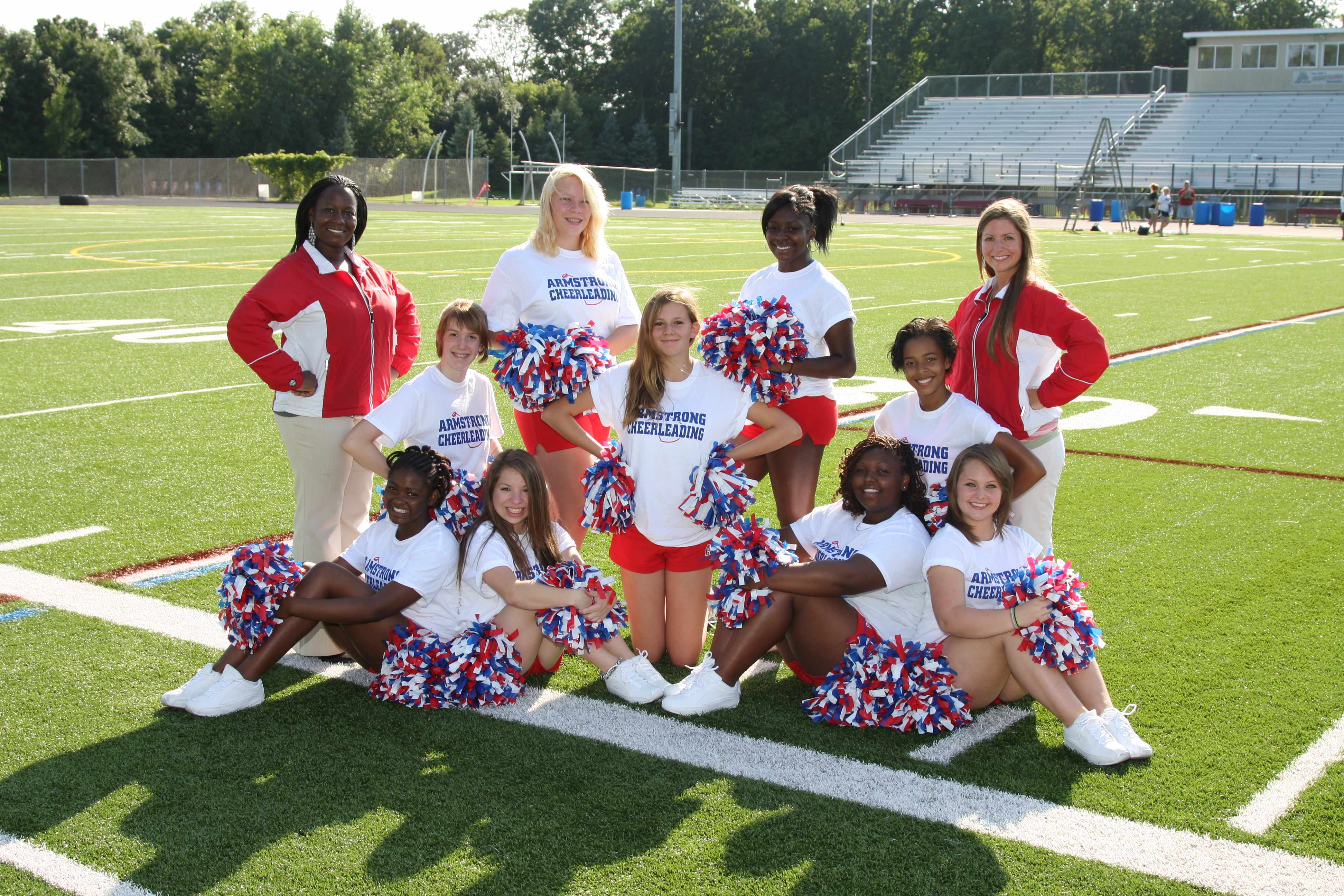 2011 JV Cheerleaders