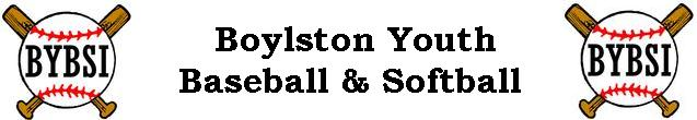 Boylston Youth Baseball & Softball