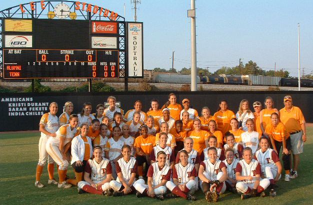 Thunder Gold and 2009 Lady Vols