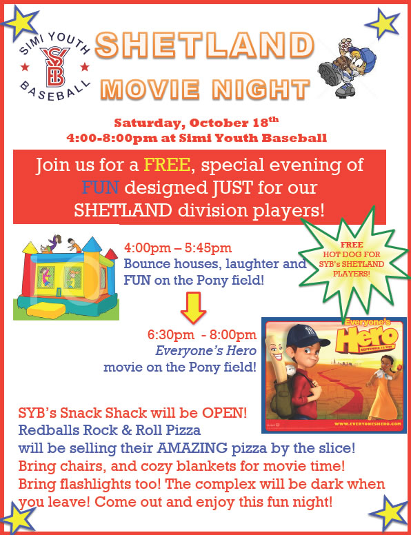 Shetland Movie Night