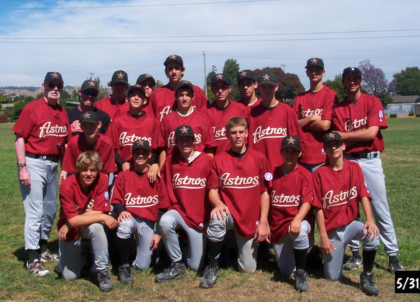 Castro Valley Astros Baseball Club