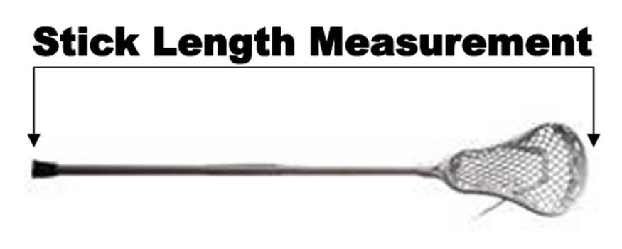 Stick Measurement Diagram