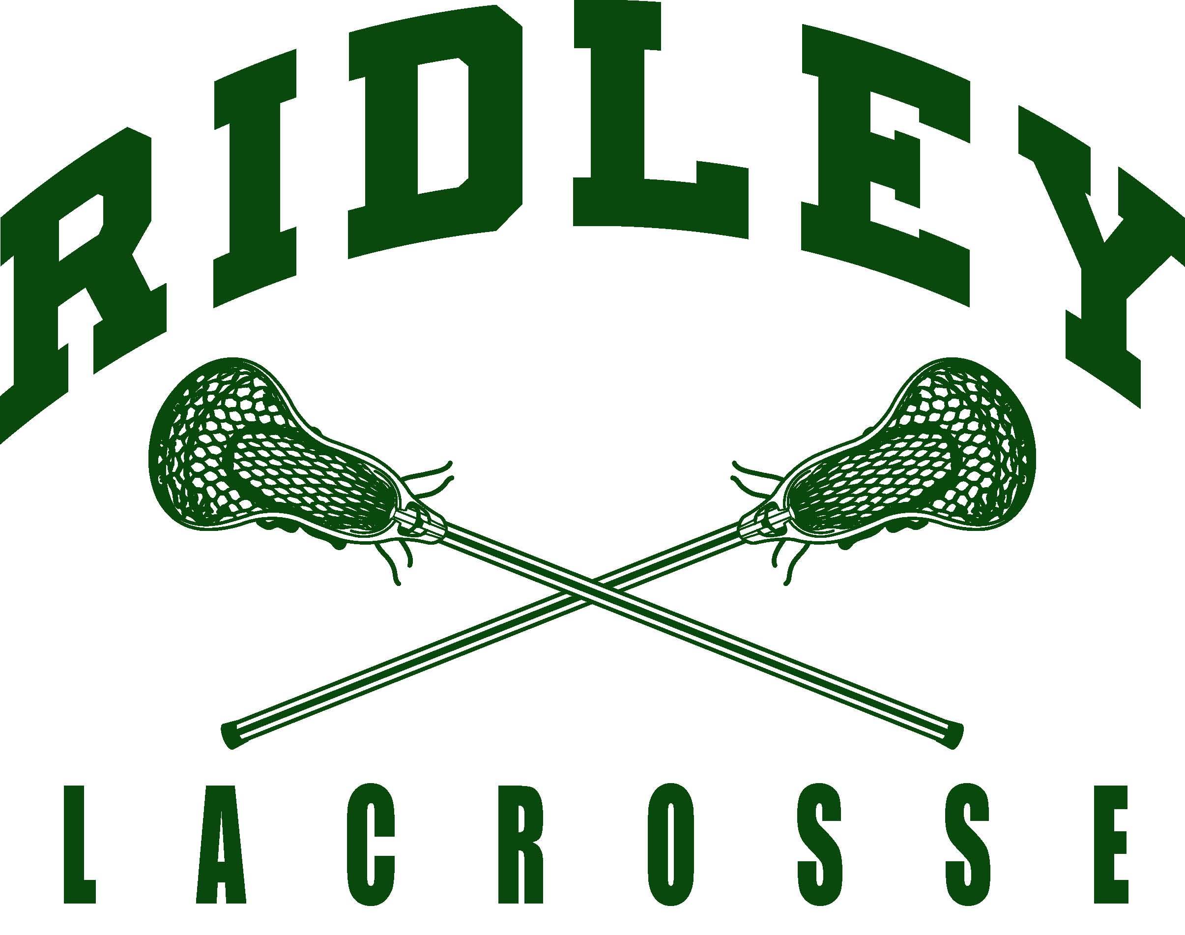 Ridley lax- (crossed-sticks)