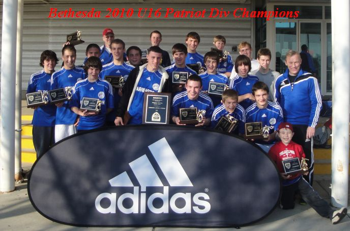 Bethesda Patriot 2010 Champs!