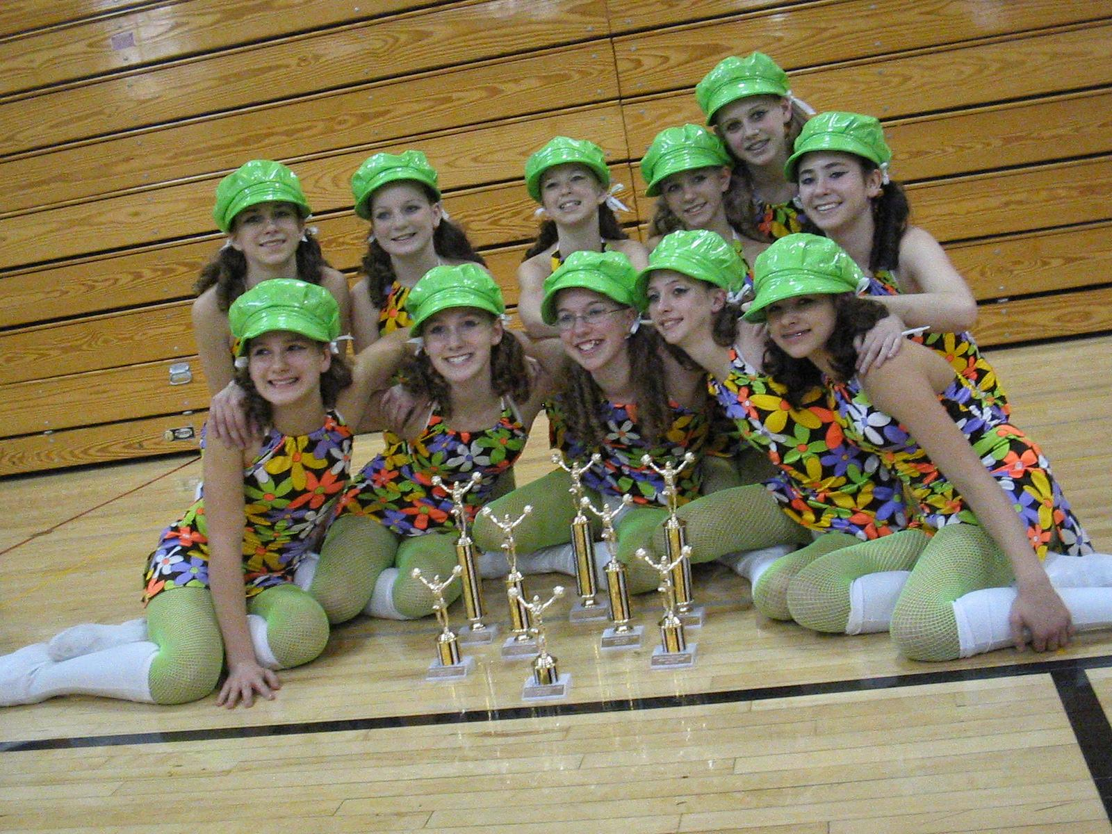 Cats with Hype Trophies-2005