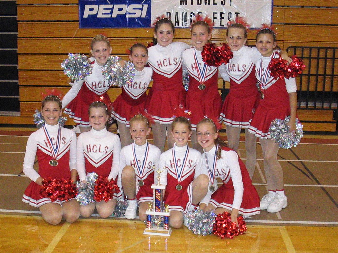 1st Place Pom Team