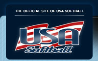 USA Softball Logo