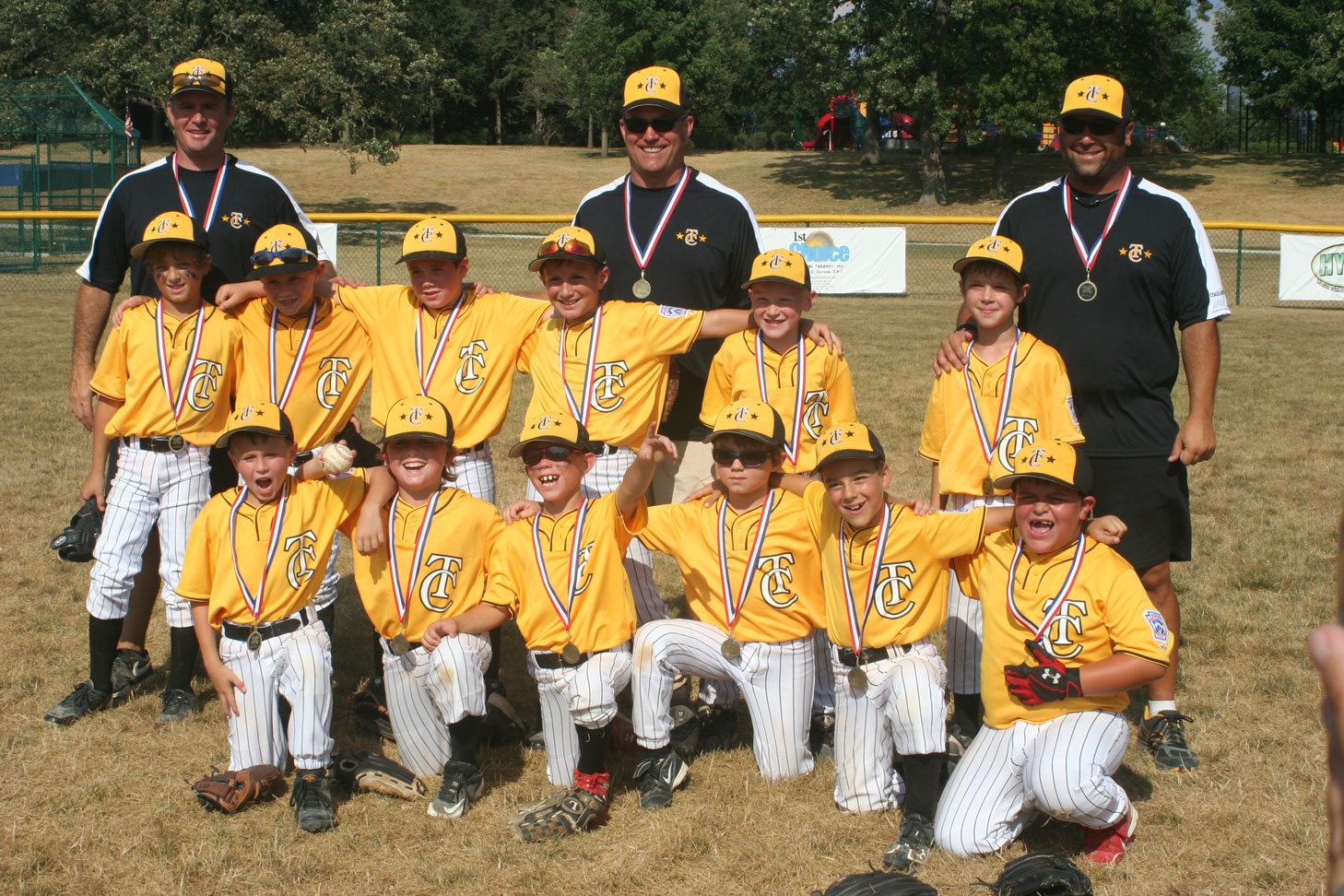 8U Medals