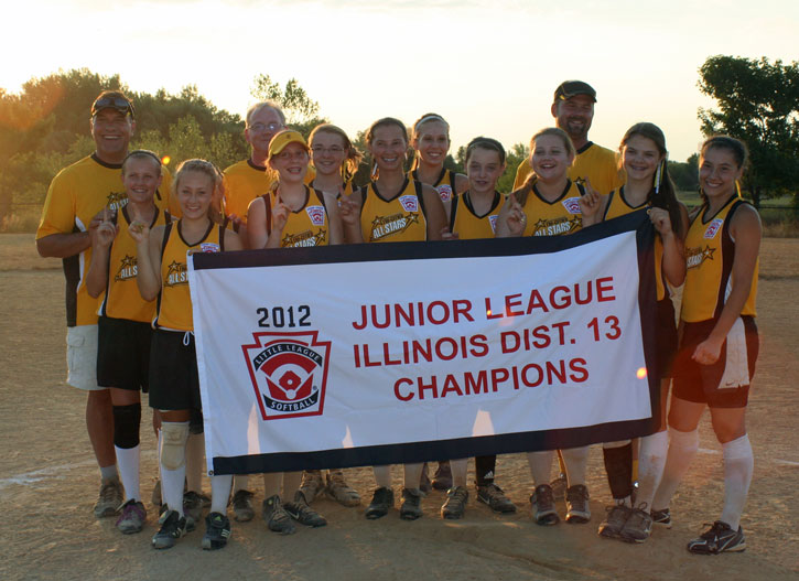 2012 Junior SB District Champs