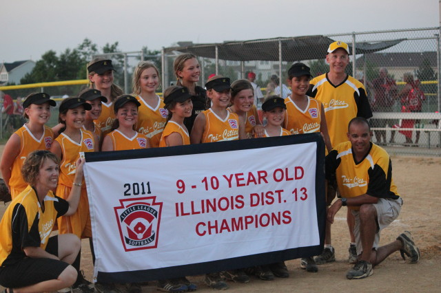 Softball D13 Champs 10U
