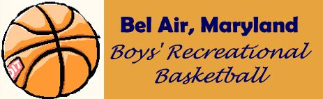 Bel Air Boys' Recreational Basketball