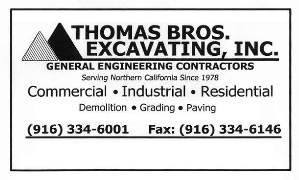Thomas Brothers Excavating, Inc