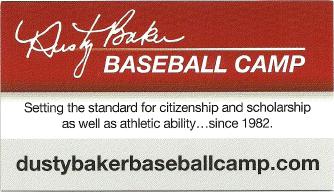 Dusty Baker Baseball Camp