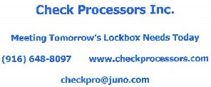 Check Processors