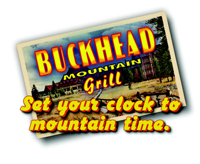 Buckhead postcard