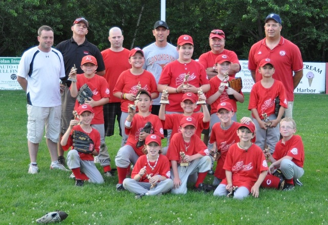 Farm League Baseball Champs