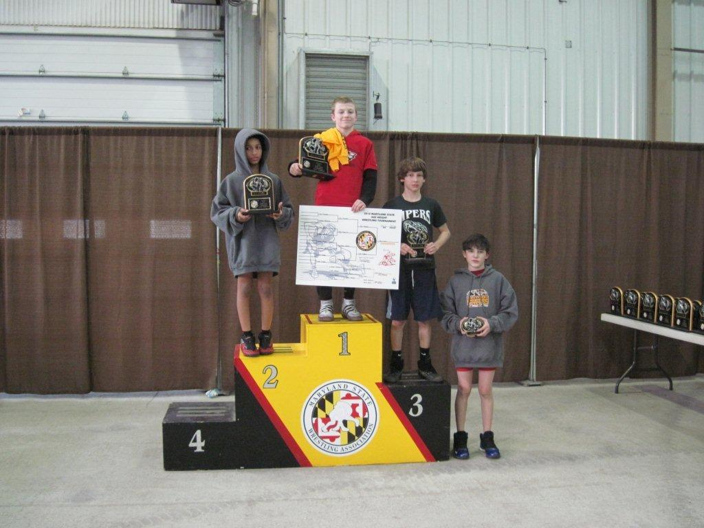 Dakota Whitacre 6th 2012 MD Junior State