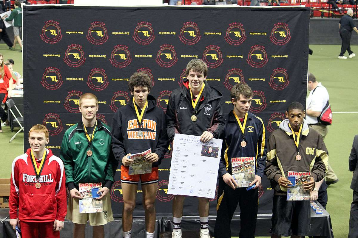 Darr on Podium at States 2012