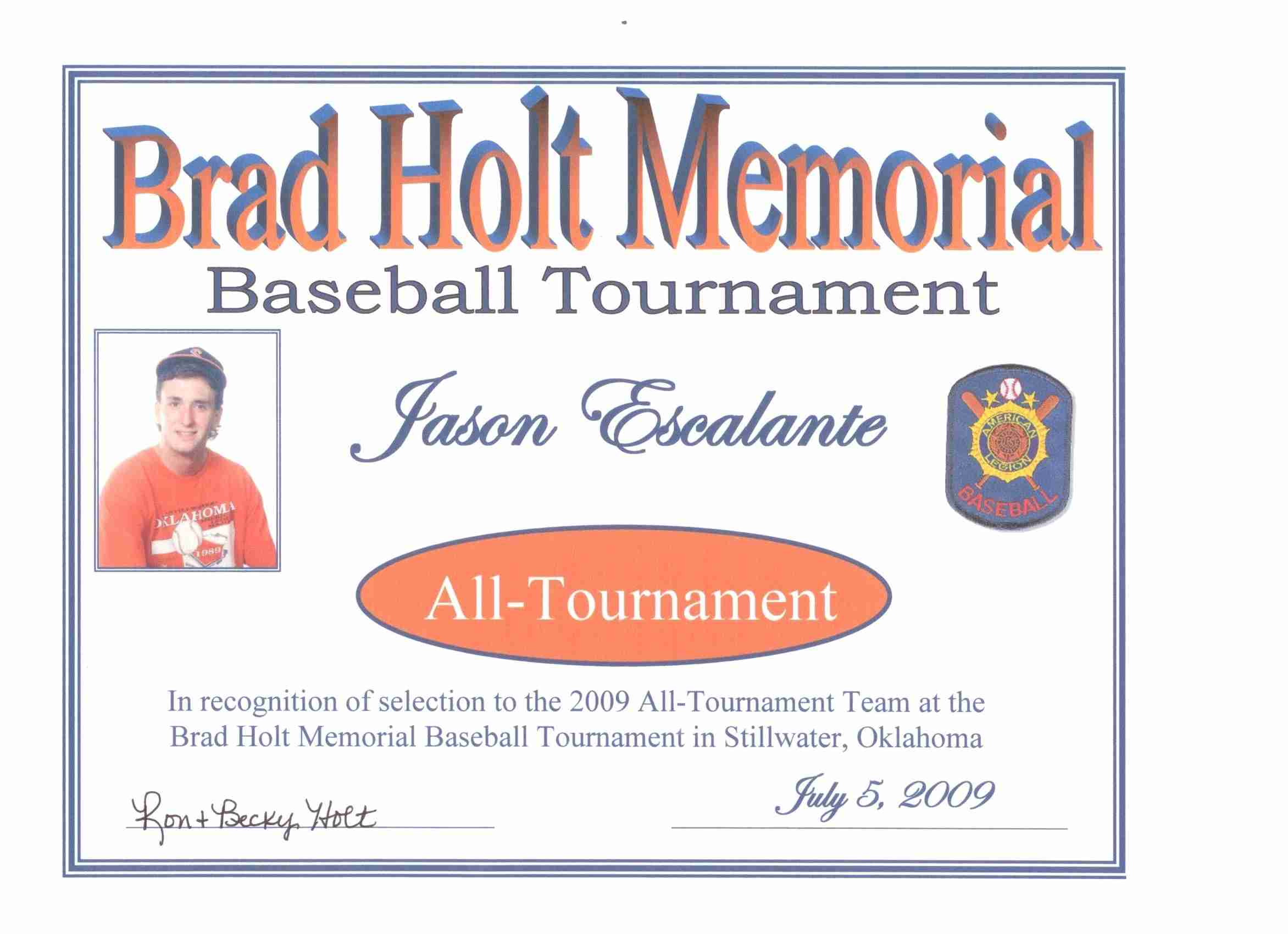 Jason All-Tournament